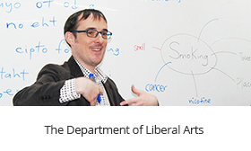 The Department of Liberal Arts